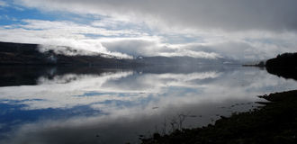 Fjord Fyne, Skottland Royaltyfri Fotografi