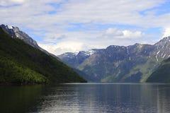 fjord geiranger Zdjęcia Royalty Free