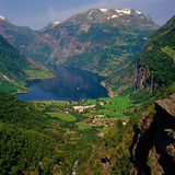 Fjord Royalty Free Stock Image