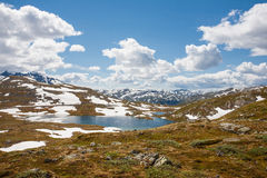 Fjord krajobraz Zdjęcia Royalty Free