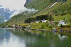 Fjord-Kreuzfahrt Lizenzfreies Stockfoto