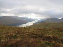 Fjord länge, Arrochar Royaltyfria Bilder