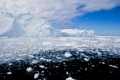 fjord lód Zdjęcie Royalty Free
