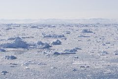 fjord lód Zdjęcia Stock