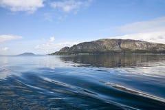 Fjord landscape Stock Photography