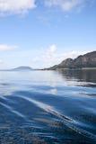 Fjord landscape Stock Image