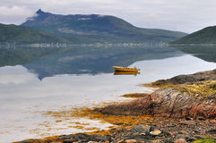 Fjord landscape Royalty Free Stock Photography