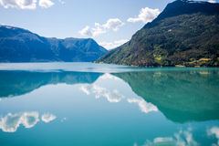 Fjord landscape. Stock Image