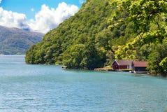 Fjord Landscape Royalty Free Stock Images
