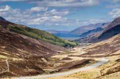 Fjord Maree från Glen Docherty Royaltyfria Foton
