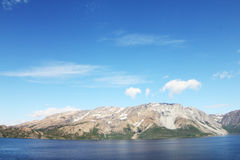 Fjord and mountains Royalty Free Stock Photography
