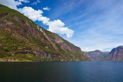 Fjord Naeroyfjord - Norway Royalty Free Stock Images