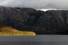 Fjord near Puerto Natales Royalty Free Stock Image