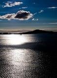 Fjord nordique Photos libres de droits