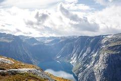 Fjord norueguês foto de stock royalty free