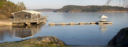 Fjord norvégien Photo libre de droits
