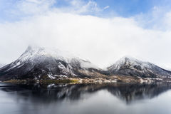 Fjord norvégien photographie stock