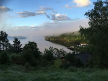 Fjord norvégien Photos libres de droits