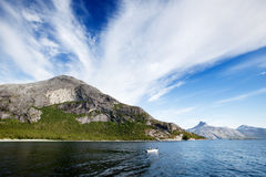 Fjord Norway stock photography