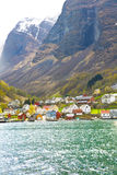fjord Norway Fotografia Royalty Free