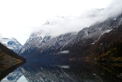 Fjord, Norway Royalty Free Stock Photo