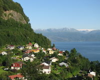 Fjord Norway Royalty Free Stock Image