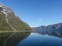 fjord norway Arkivbilder