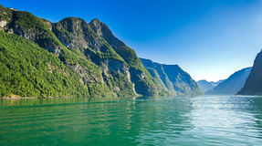 Fjord Norway Royalty Free Stock Photography