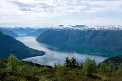 Fjord in Norway Royalty Free Stock Photography