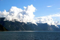 Fjord in Norway royalty free stock photo