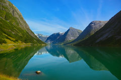 Fjord in Norway Stock Photography