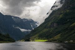Fjord. Norway, Scandinavia Royalty Free Stock Image