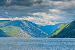 Fjord in Norway Royalty Free Stock Photos