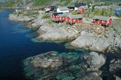 fjord Norway sceniczny Obrazy Royalty Free