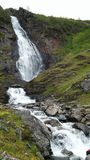 Fjord 2016 Norwegens Uloybukta Stockfotografie