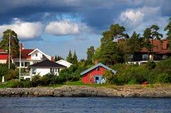 fjord oslo Royaltyfri Bild