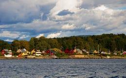 fjord oslo Royaltyfri Foto