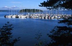 fjord oslo Fotografering för Bildbyråer