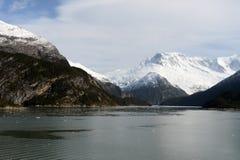 Fjord Pia das Archipel von Tierra del Fuego stockfotografie