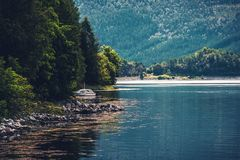 The Fjord Place Royalty Free Stock Photography