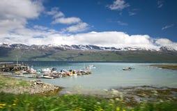 Fjord port Stock Photos
