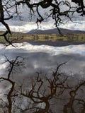 Fjord Rannoch, Skottland arkivfoton