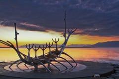 Fjord in  Reykjavík - Sun Voyager Stock Images