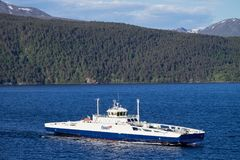 Fjord1 ROMSDALFJORD  免版税图库摄影