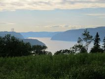 Fjord saguenay Stock Photography