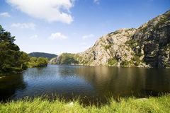 fjord sceniska norway Royaltyfria Foton