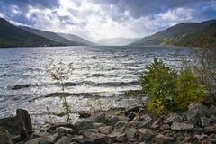 fjord scotland Royaltyfri Foto