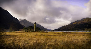 Fjord Shiel, Lochaber royaltyfria bilder
