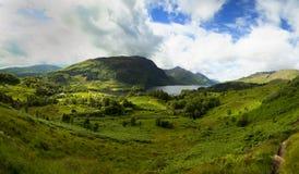 Fjord Shiel på Glenfinnan, Skottland Arkivbilder
