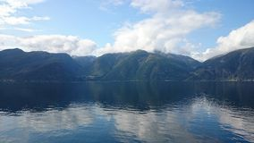 Fjord. In Sogn og ane Norway Royalty Free Stock Photography